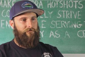 Drew Derrick, Hotshot Senior Firefighter