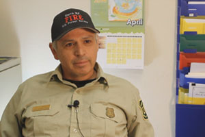 Ron Garcia, Dist. Fire Management Officer