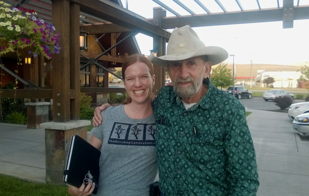 The Smokey Generation Founder, Bethany Hannah, and Jeff Davis at the National Reunion (2015)